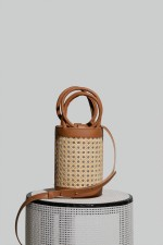 Medium Kyklos Bag in Camel Chair