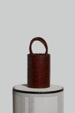 Medium Kyklos Bag in Crocco Embossed Leather (PRE-ORDER)