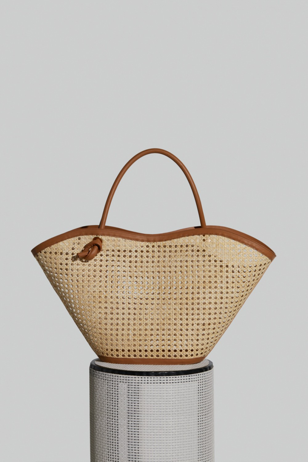 Large Cella Bag in Camel Leather and Chair (PRE-ORDER)