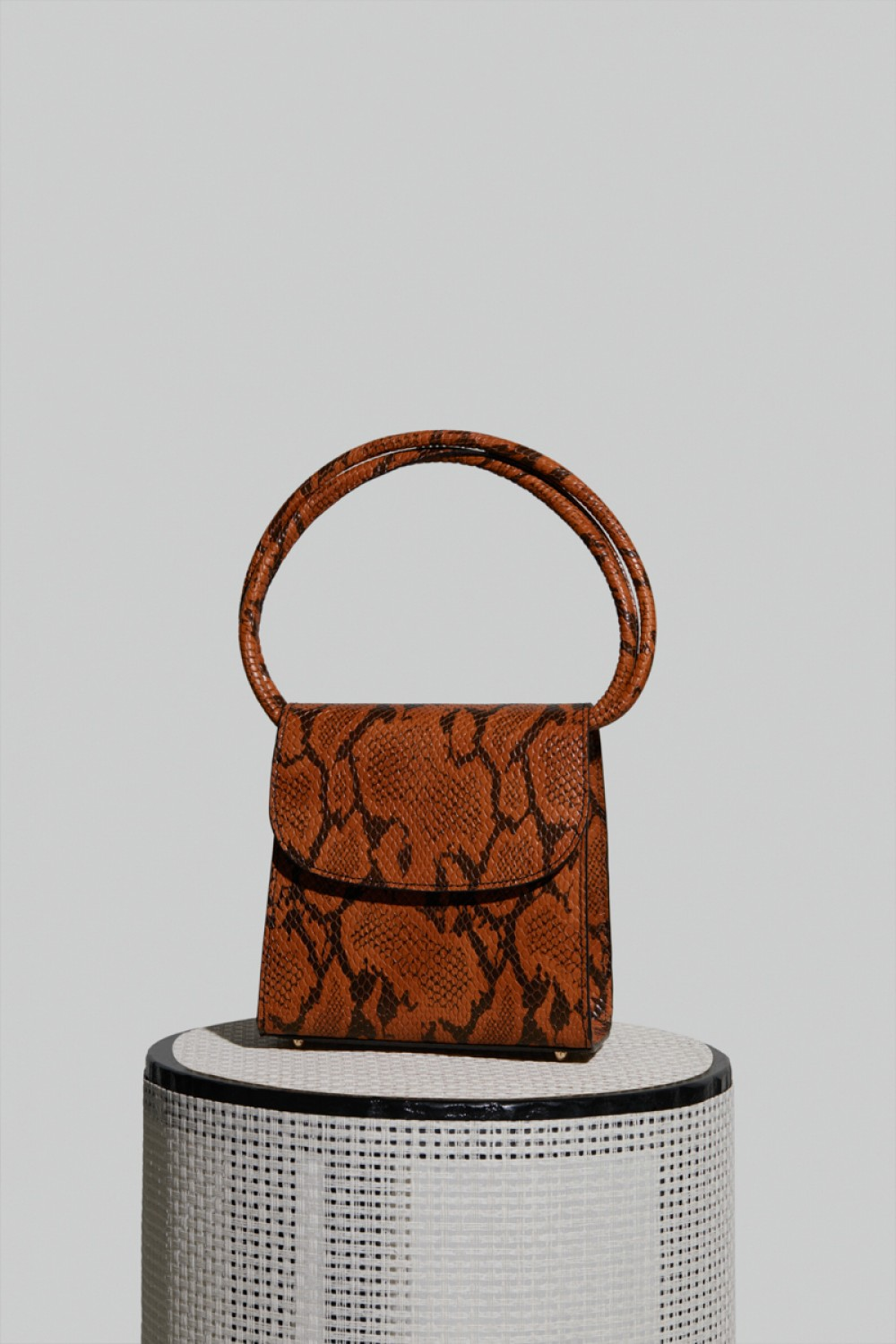 Loop Bag in Snake Leather