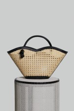 Small Cella Bag in Black Chair