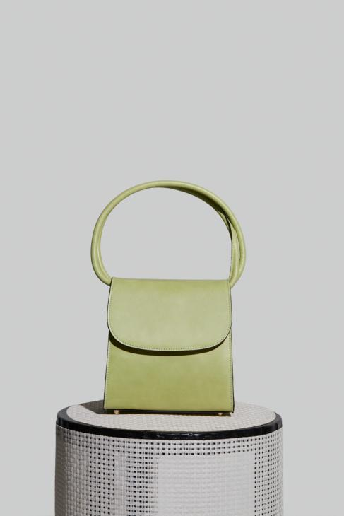 Loop Bag in Pistachio Leather
